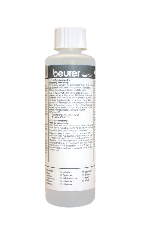 """LW 110 / LW 220 Reinigungsflüssigkeit """"BEURER Antical"""""""