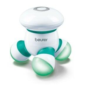 Beurer Mini-Massagegerät - MG 16 grün Sanfte Vibrationsmassage – zu Hause, im Büro oder unterwegs